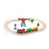 HAPE Pista Treno Gru e Locomotiva a Batteria